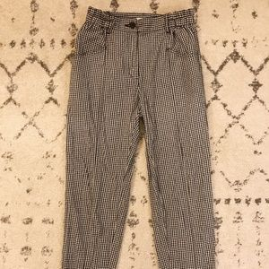 Urban Outfitters Silence + Noise Gingham Pants